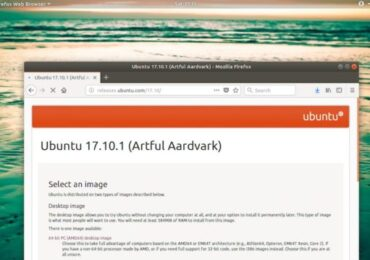 Download ISO Ubuntu 17.10.1 Linux Distro