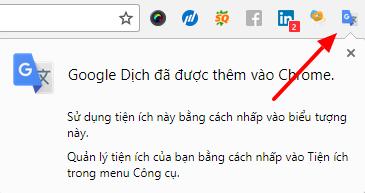 Hướng dẫn cách dịch trang web trên Google Chrome