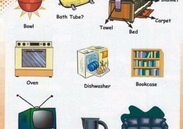 Từ vựng tiếng anh những đồ dùng trong gia đình từ A-Z