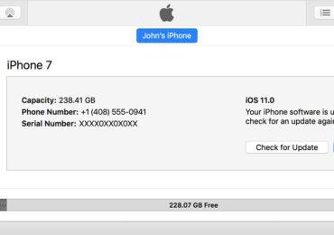 Hạ cấp từ iOS 12 Beta xuống iOS 11 mà không mất dữ liệu