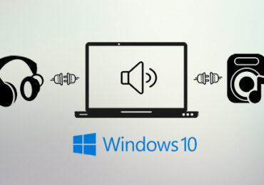 Cách dùng song song tai nghe và loa ngoài trên Windows 10 April Update