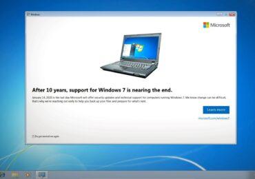 Microsoft sẽ phát thông báo nhắc nhở ngưng hỗ trợ Windows 7 từ tháng tới