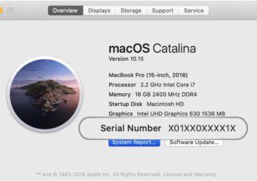 Apple âm thầm cập nhật số Serial Numbers từ cố định sang ngẫu nhiên bắt đầu từ năm 2021 Trên Macbook